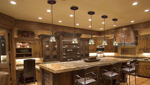 residential lighting design - recessed lighting